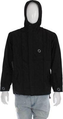 RuckJack Convertible Unisex Rain Jacket 3XL - Black - RuckJack Men's Apparel