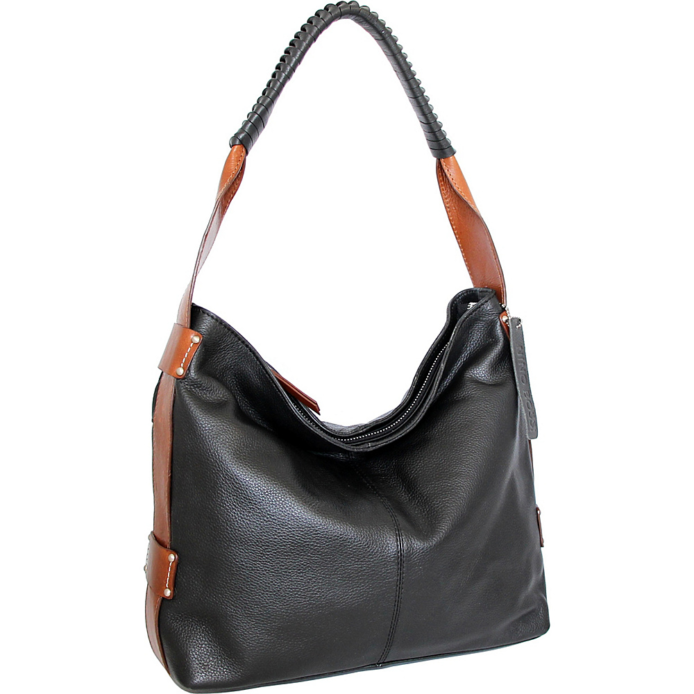 Nino Bossi Belle Hobo Black - Nino Bossi Leather Handbags - Handbags, Leather Handbags