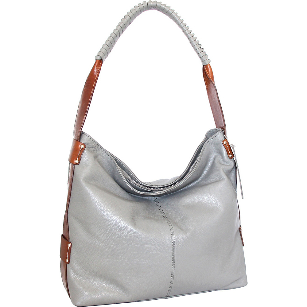 Nino Bossi Belle Hobo Stone - Nino Bossi Leather Handbags - Handbags, Leather Handbags