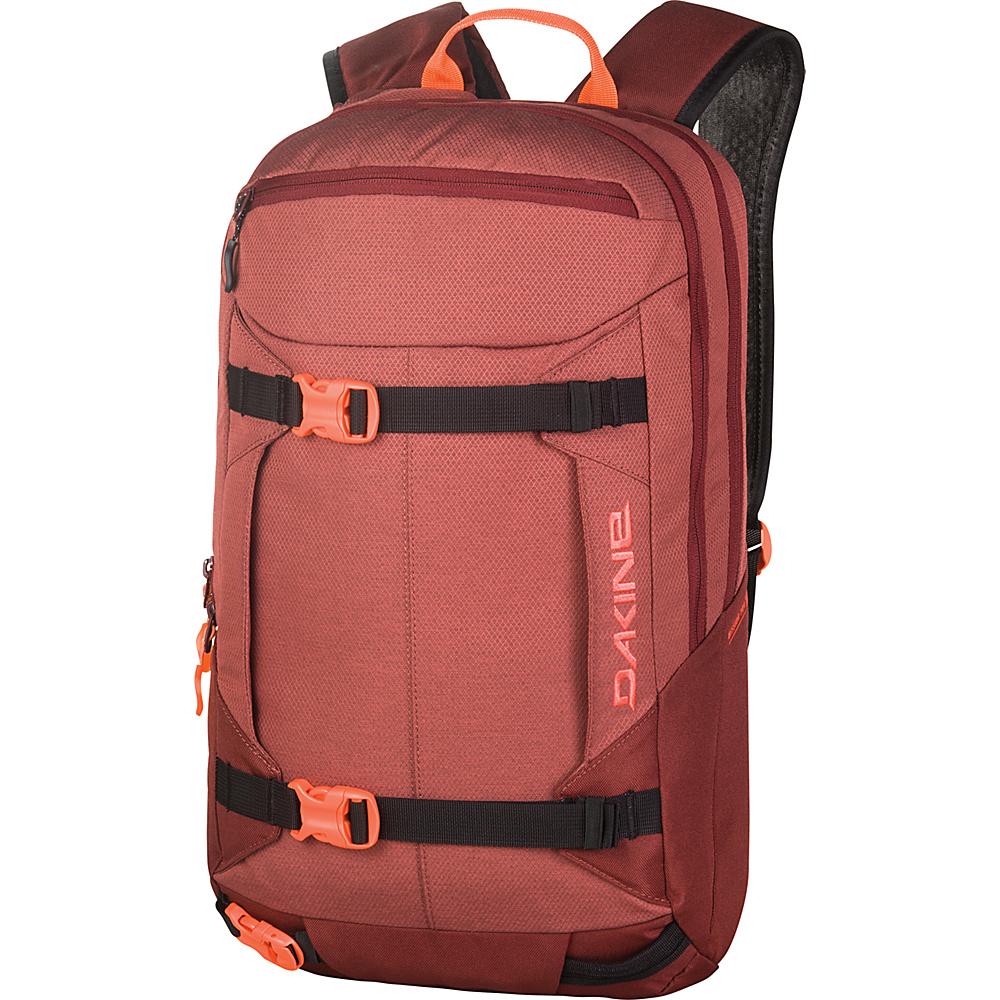 DAKINE Womens Mission Pro 18L Burtn Rose - DAKINE Day Hiking Backpacks - Outdoor, Day Hiking Backpacks