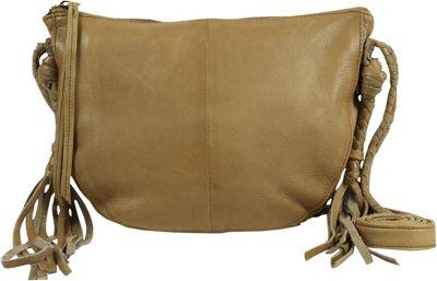 Day & Mood Elm Crossbody Pale Khaki - Day & Mood Leather Handbags
