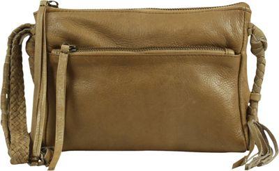 Day & Mood Elm Clutch Pale Khaki - Day & Mood Leather Handbags