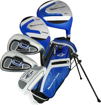 Ray Cook Golf Junior Manta Ray Golf 8 Piece Set with Bag Ages 9-12 Blue - Ray Cook Golf Golf Bags