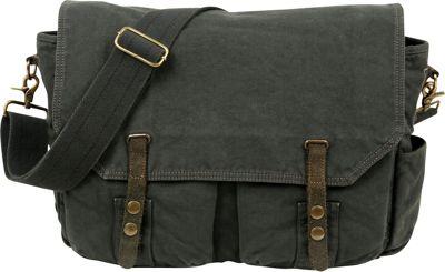 TSD Coastal Messenger Dark Grey - TSD Messenger Bags