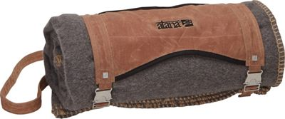 aTana Bags Blanket with Carrier Brush Brown with Gray Topo - aTana Bags Travel Pillows & Blankets