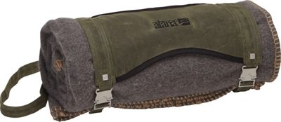 aTana Bags Blanket with Carrier Olive with Henna Topo - aTana Bags Travel Pillows & Blankets