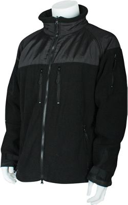 Fox Outdoor Mens Enhanced Fleece Tactical Jacket 3XL - Bl...