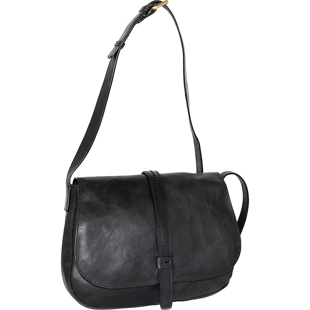 Nino Bossi Estelle Cross Body Black - Nino Bossi Leather Handbags - Handbags, Leather Handbags