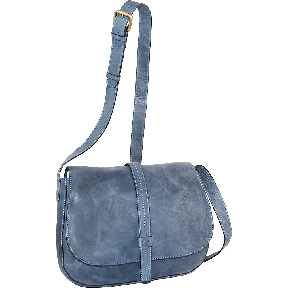 Nino Bossi Estelle Cross Body Denim - Nino Bossi Leather Handbags - Handbags, Leather Handbags
