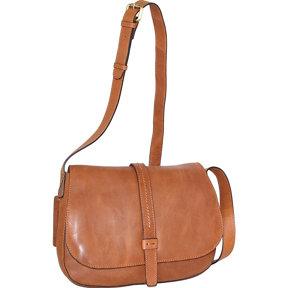 Nino Bossi Estelle Cross Body Nut - Nino Bossi Leather Handbags - Handbags, Leather Handbags