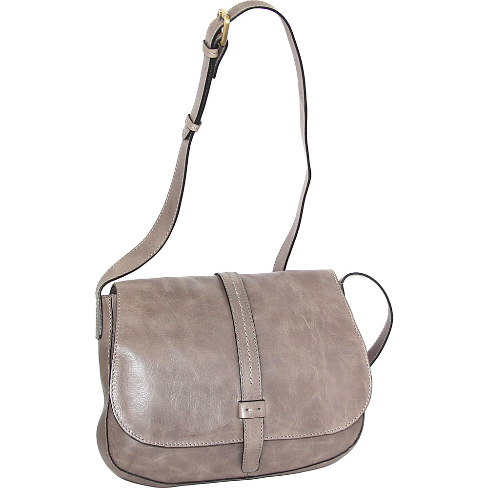 Nino Bossi Estelle Cross Body Stone - Nino Bossi Leather Handbags - Handbags, Leather Handbags