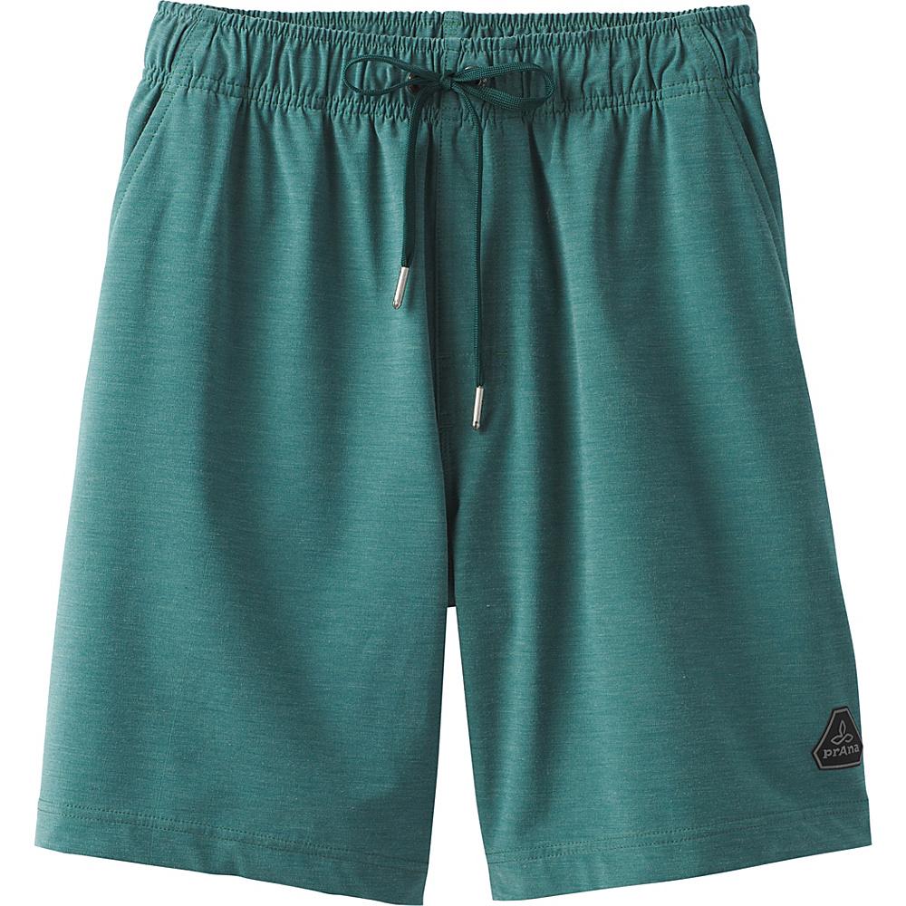 PrAna Metric E-Waist Boardshort S - Midnight Green - PrAna Mens Apparel - Apparel & Footwear, Men's Apparel