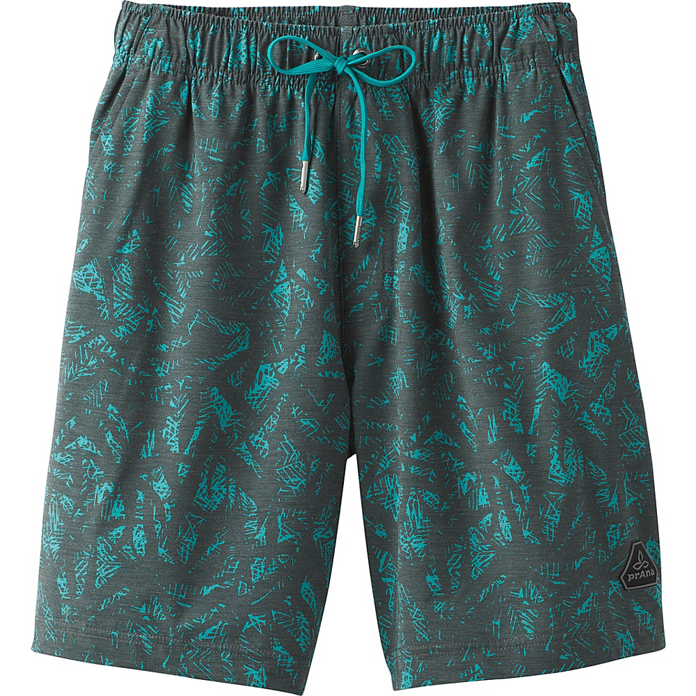 PrAna Metric E-Waist Boardshort XL - Olive Waimea - PrAna Mens Apparel - Apparel & Footwear, Men's Apparel
