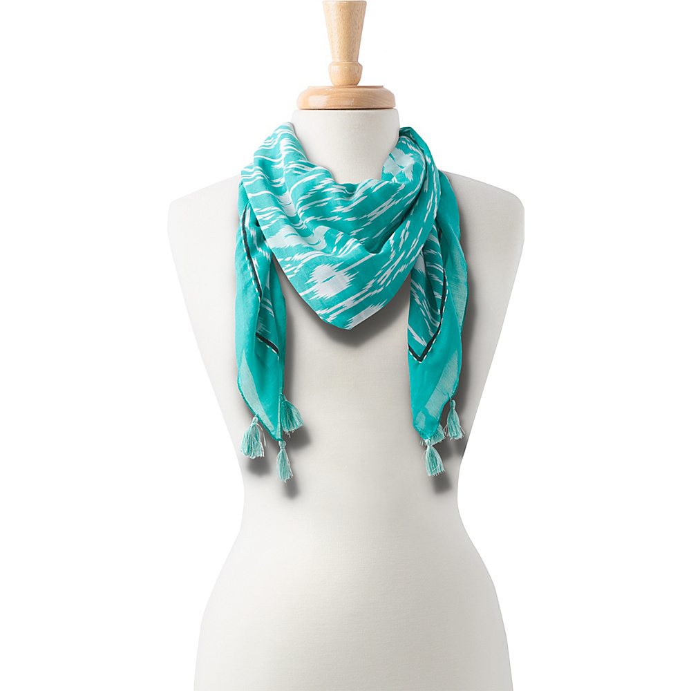 PrAna Marilyne Scarf Bluegrass - PrAna Hats/Gloves/Scarves - Fashion Accessories, Hats/Gloves/Scarves