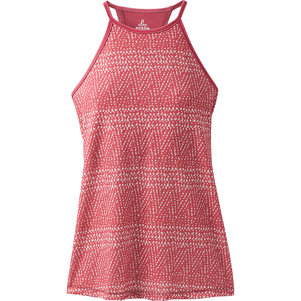 PrAna Path Top S - Crushed Cran Sumatra - PrAna Womens Apparel - Apparel & Footwear, Women's Apparel