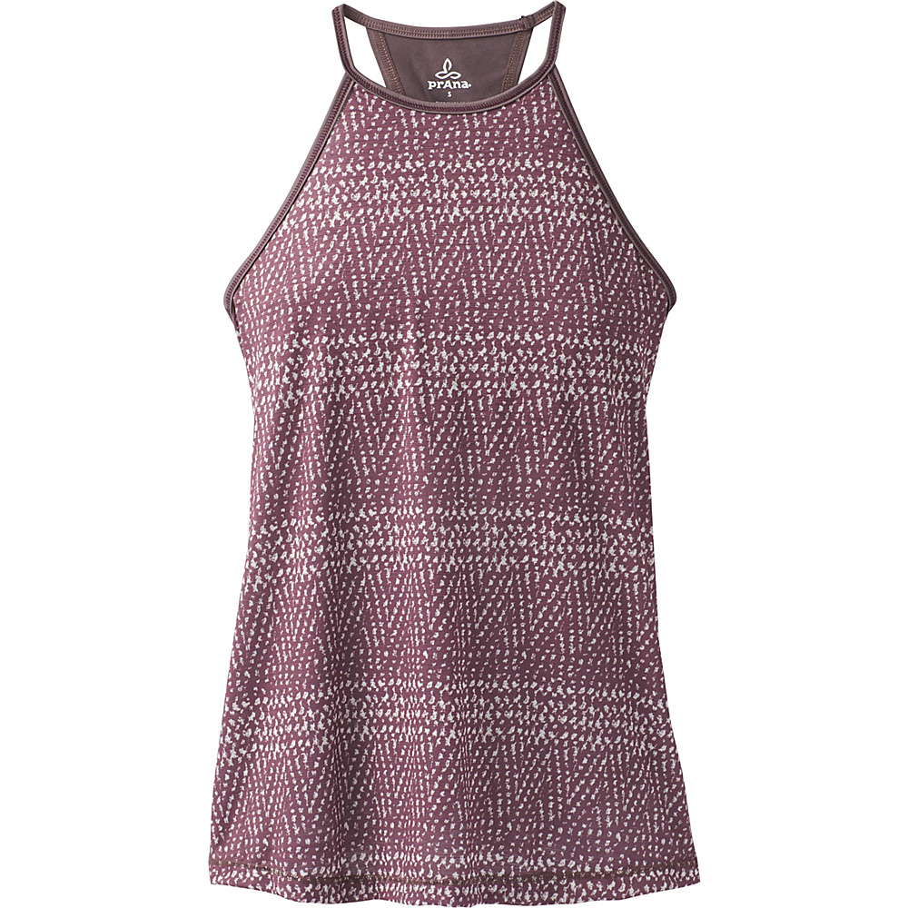 PrAna Path Top L - Volcanic Plum Sumatra - PrAna Womens Apparel - Apparel & Footwear, Women's Apparel