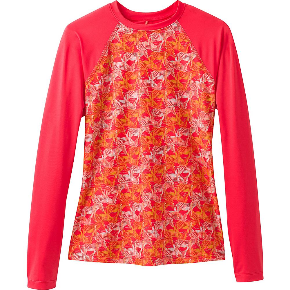 PrAna Charline Sun Top XS - Carmine Pink Safari - PrAna Womens Apparel - Apparel & Footwear, Women's Apparel
