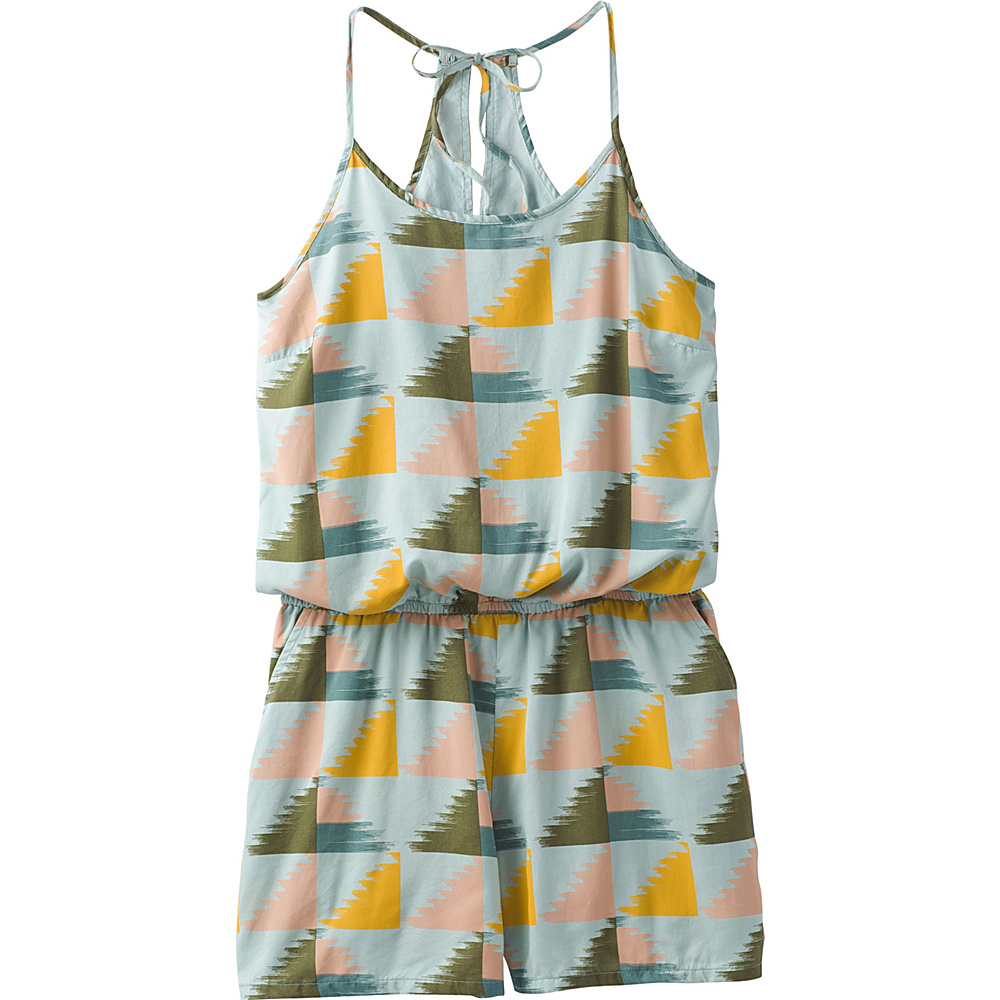 PrAna Franny Romper XS - Seaside Grey - PrAna Womens Apparel - Apparel & Footwear, Women's Apparel
