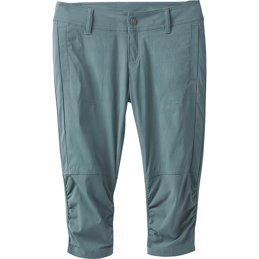 PrAna Revenna Knicker 4 - Starling Green - PrAna Womens Apparel - Apparel & Footwear, Women's Apparel