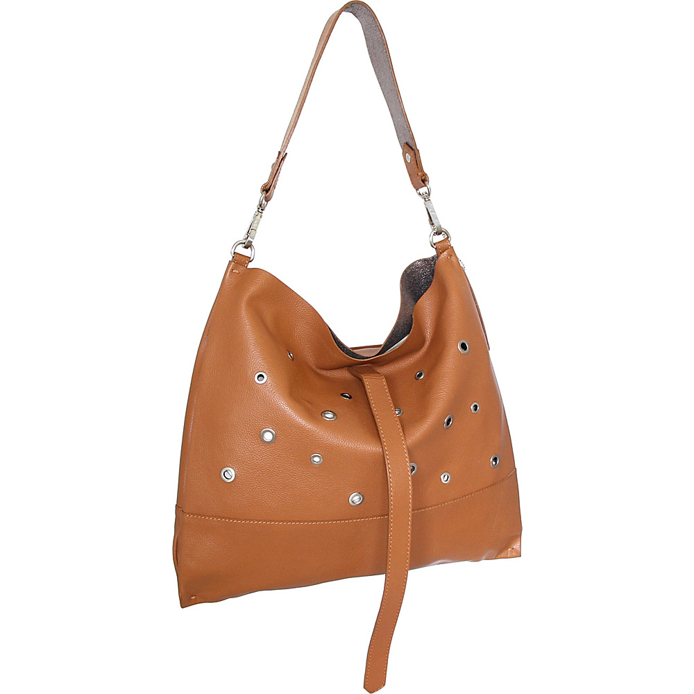 Nino Bossi Suki Sling Bag Cognac - Nino Bossi Leather Handbags - Handbags, Leather Handbags