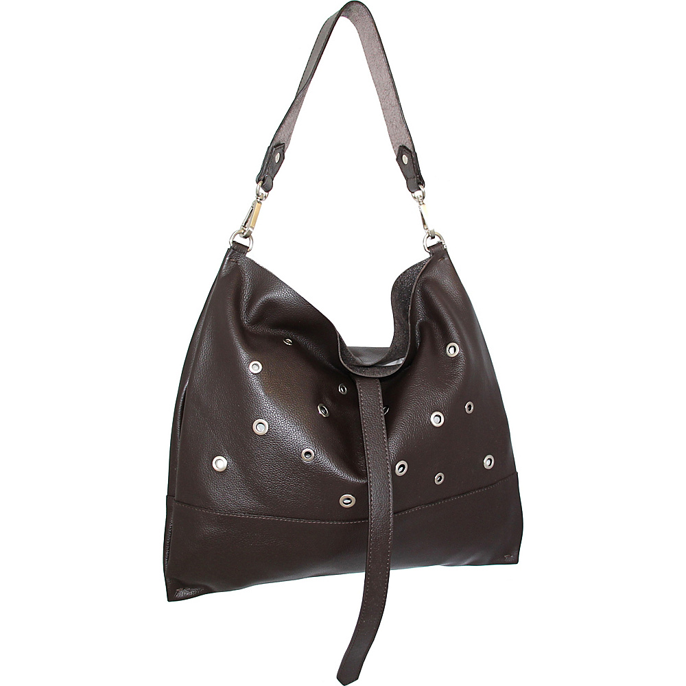 Nino Bossi Suki Sling Bag Chocolate - Nino Bossi Leather Handbags - Handbags, Leather Handbags