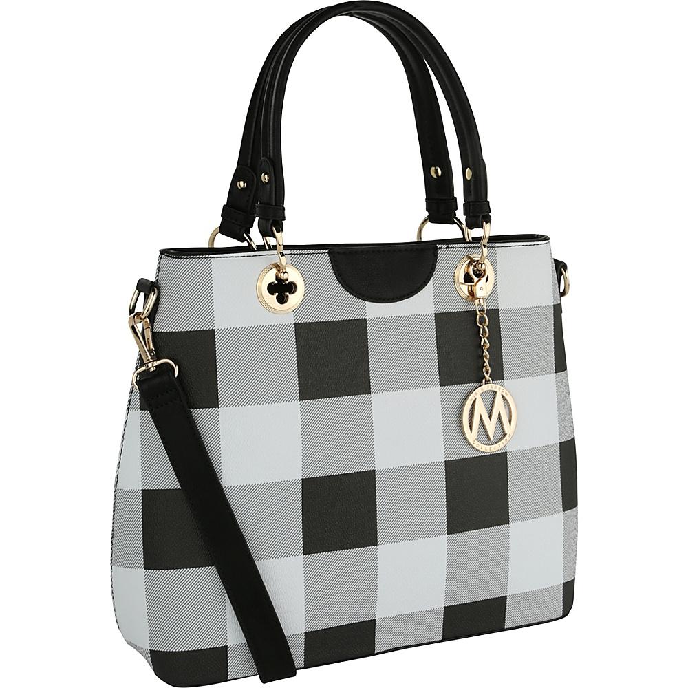 MKF Collection by Mia K. Farrow Gaby Designer Tote Black - MKF Collection by Mia K. Farrow Fabric Handbags - Handbags, Fabric Handbags