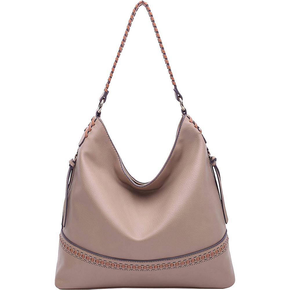 MKF Collection by Mia K. Farrow Elle Fashion Hobo Apricot - MKF Collection by Mia K. Farrow Manmade Handbags - Handbags, Manmade Handbags