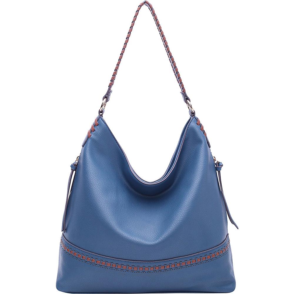 MKF Collection by Mia K. Farrow Elle Fashion Hobo Blue - MKF Collection by Mia K. Farrow Manmade Handbags - Handbags, Manmade Handbags