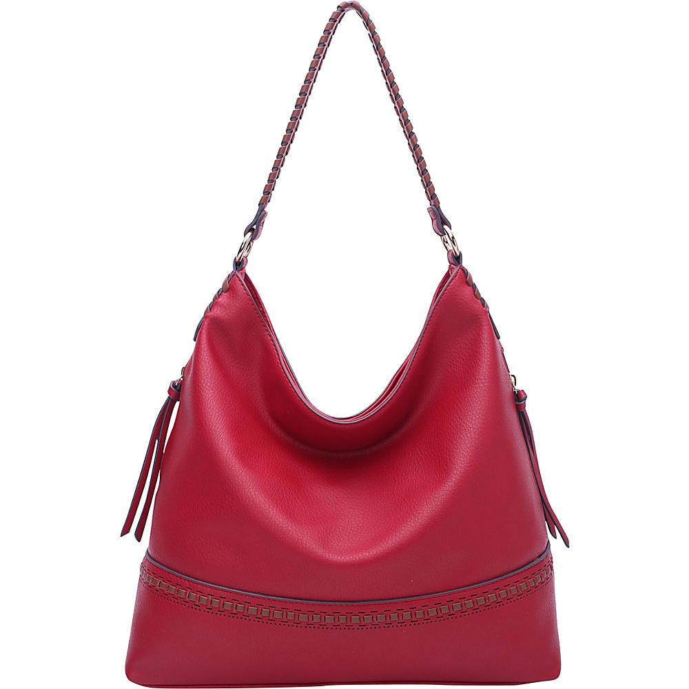 MKF Collection by Mia K. Farrow Elle Fashion Hobo Red - MKF Collection by Mia K. Farrow Manmade Handbags - Handbags, Manmade Handbags