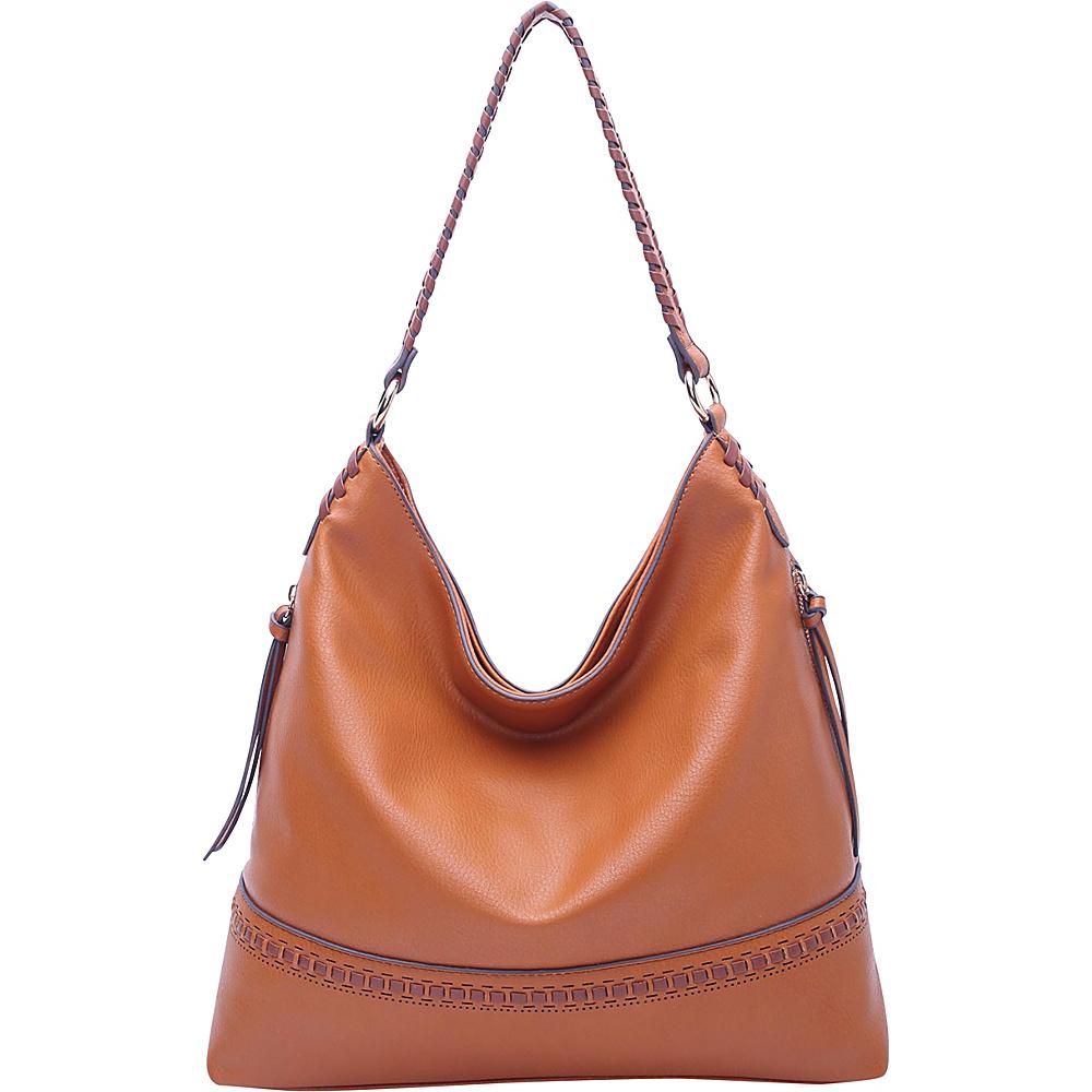 MKF Collection by Mia K. Farrow Elle Fashion Hobo Tan - MKF Collection by Mia K. Farrow Manmade Handbags - Handbags, Manmade Handbags