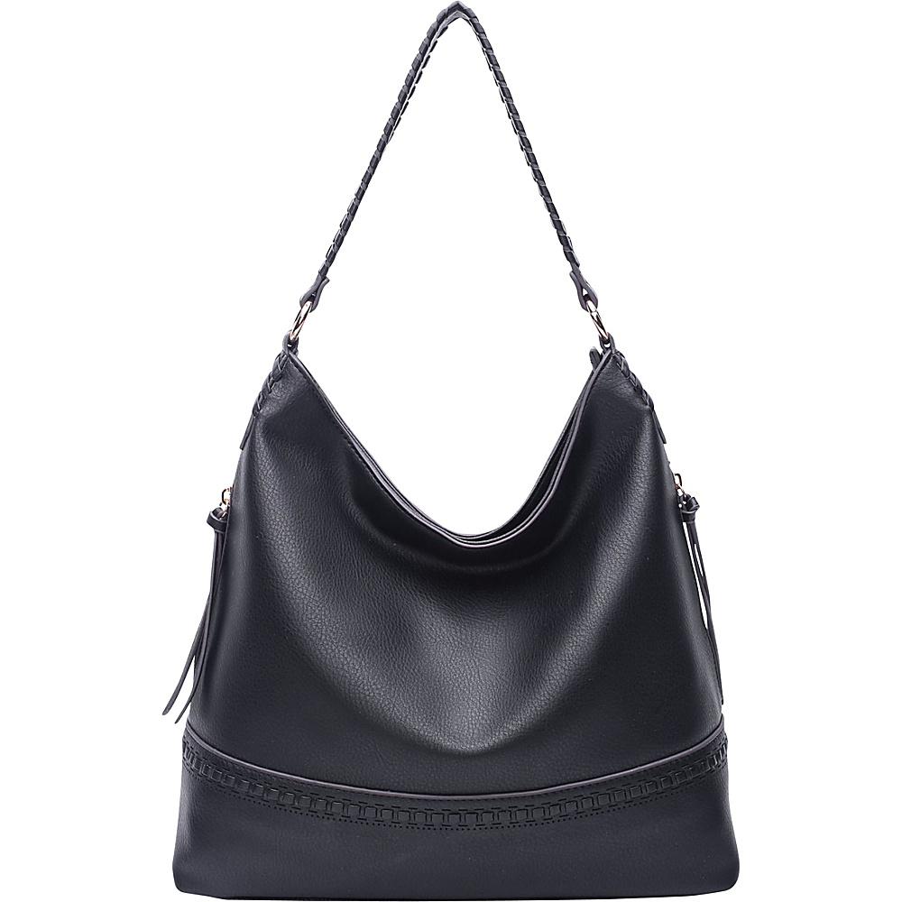 MKF Collection by Mia K. Farrow Elle Fashion Hobo Black - MKF Collection by Mia K. Farrow Manmade Handbags - Handbags, Manmade Handbags