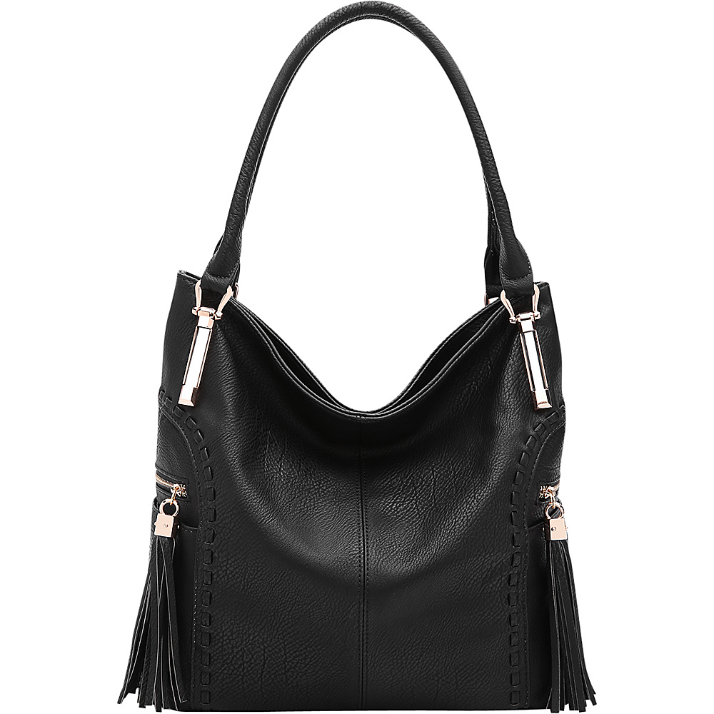 MKF Collection by Mia K. Farrow Betsy Shoulder Bag Black - MKF Collection by Mia K. Farrow Manmade Handbags - Handbags, Manmade Handbags