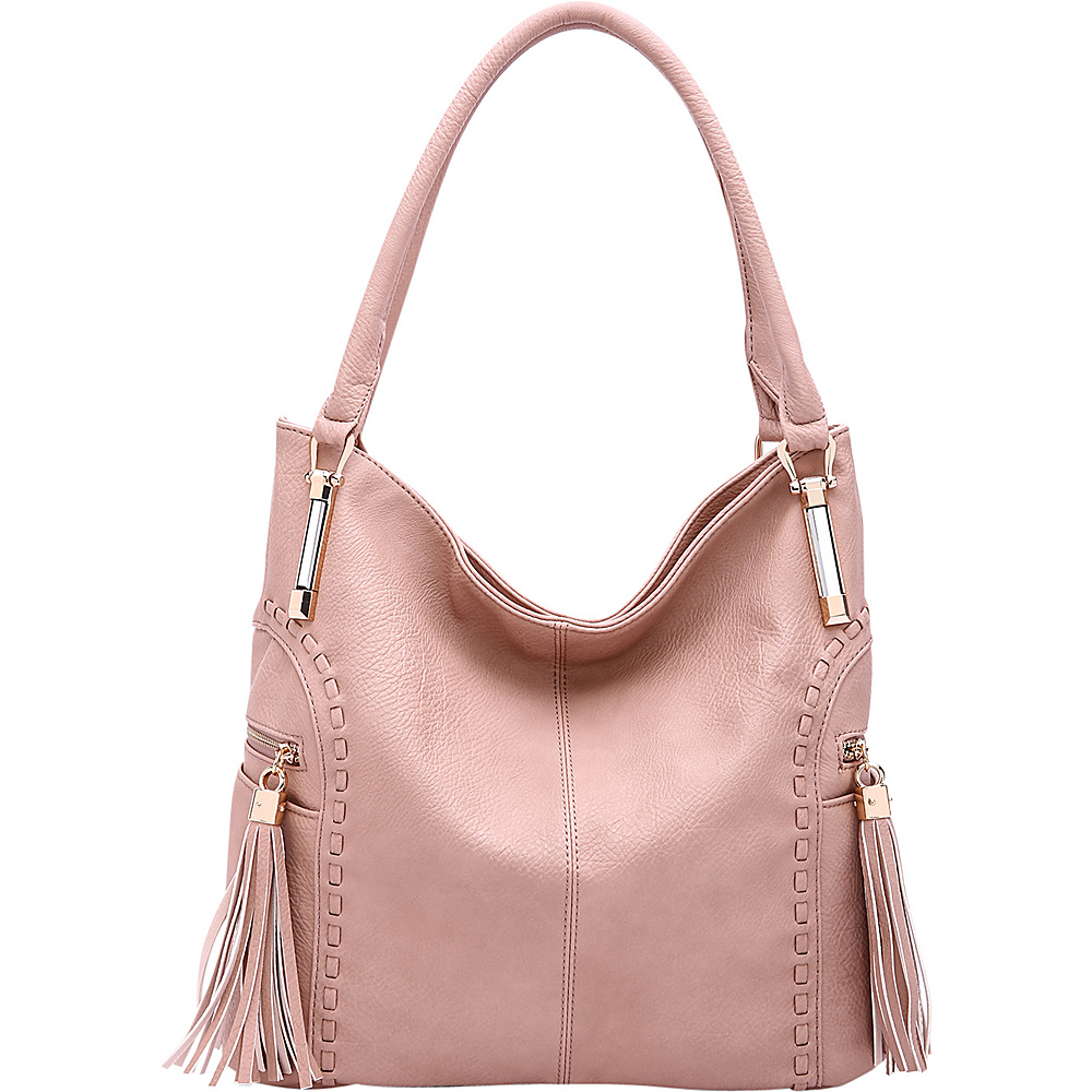 MKF Collection by Mia K. Farrow Betsy Shoulder Bag Dusty Pink (ROSE) - MKF Collection by Mia K. Farrow Manmade Handbags - Handbags, Manmade Handbags