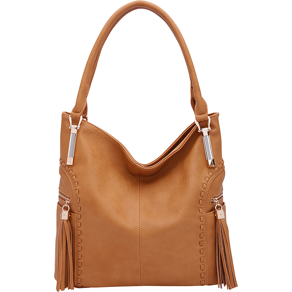 MKF Collection by Mia K. Farrow Betsy Shoulder Bag Mustard - MKF Collection by Mia K. Farrow Manmade Handbags - Handbags, Manmade Handbags