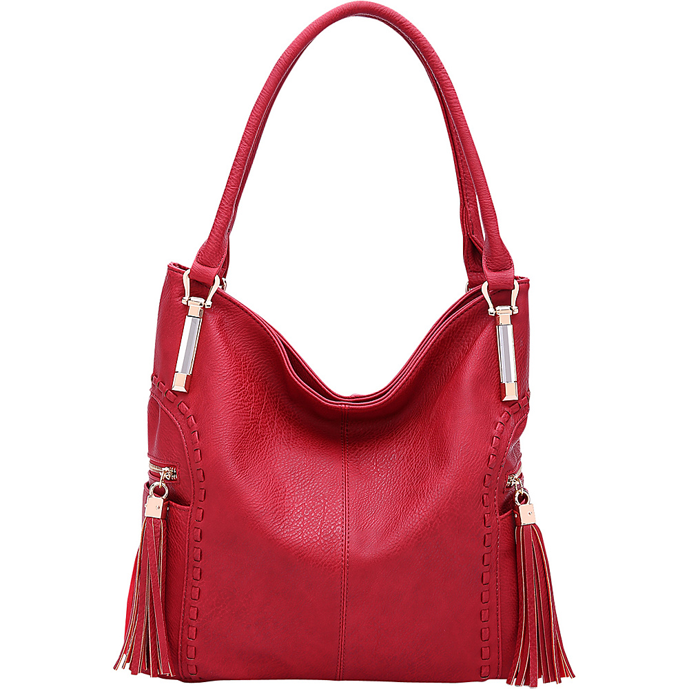 MKF Collection by Mia K. Farrow Betsy Shoulder Bag Red - MKF Collection by Mia K. Farrow Manmade Handbags - Handbags, Manmade Handbags