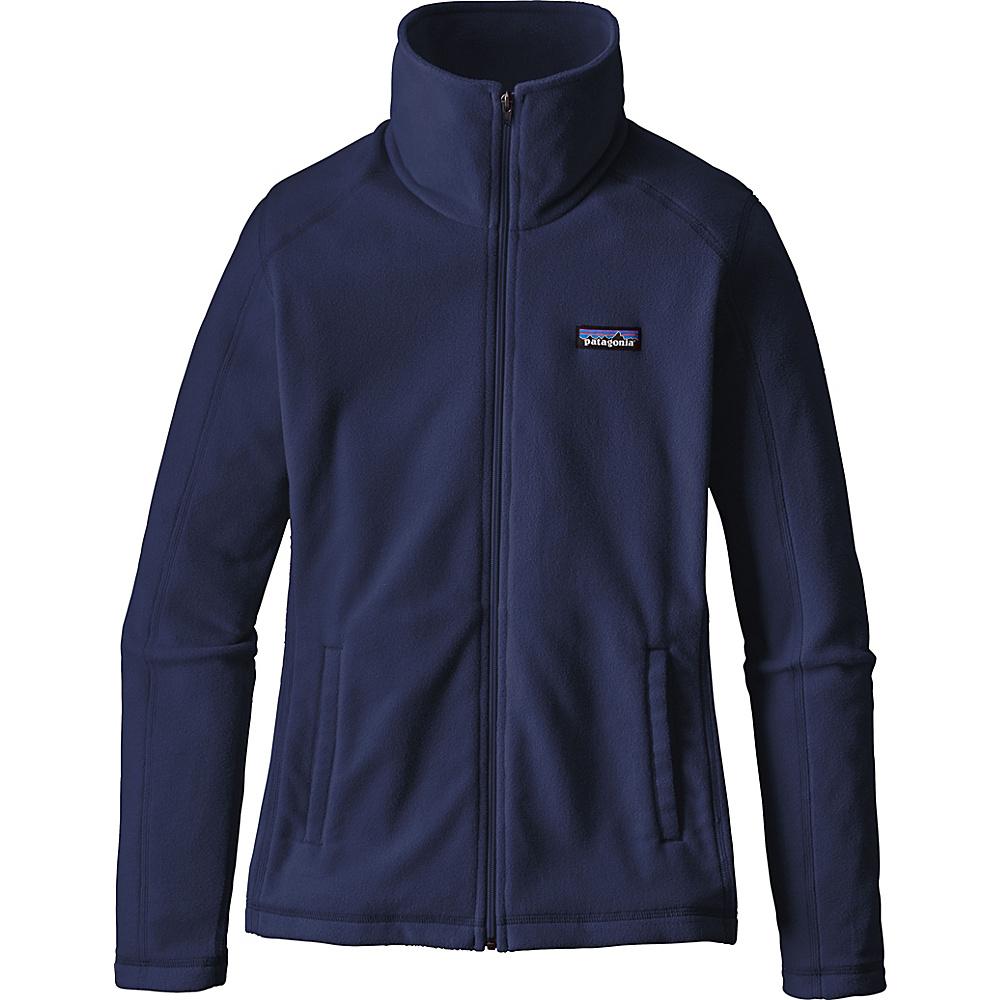 Patagonia Womens Micro D Jacket M - Navy Blue - Patagonia Womens Apparel - Apparel & Footwear, Women's Apparel