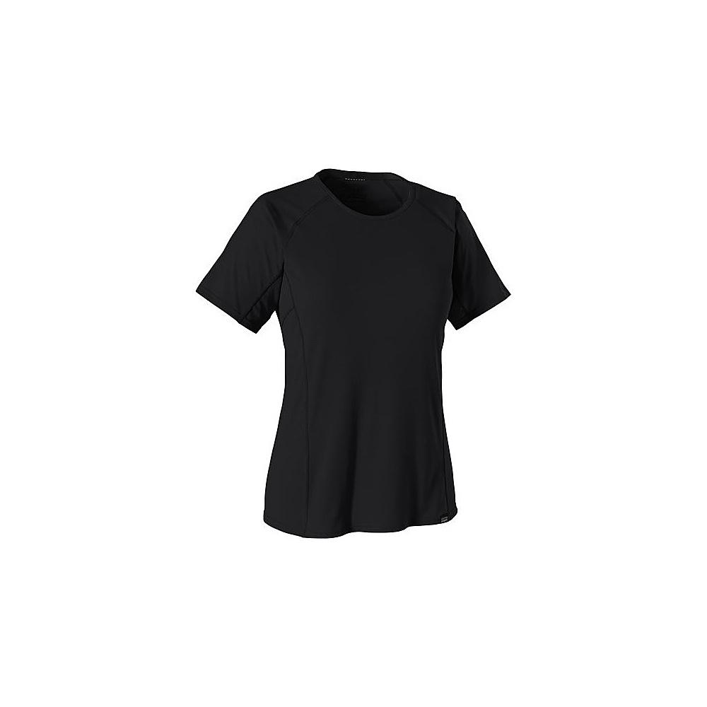 Patagonia Womens Cap LW T-Shirt XXS - Black - Patagonia Womens Apparel - Apparel & Footwear, Women's Apparel