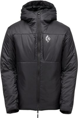Black Diamond Mens Stance Belay Parka S - Black - Black D...