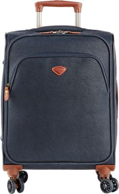 Jump Uppsala Expandable Carry-On Spinner Suitcase Navy - Jump Softside Carry-On