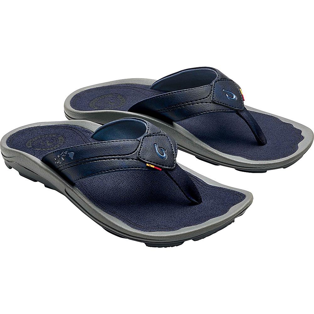 OluKai Mens Kipi Sandal 7 - Trench Blue/Trench Blue - OluKai Mens Footwear - Apparel & Footwear, Men's Footwear