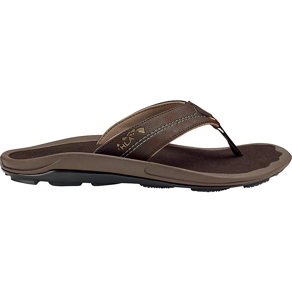 OluKai Mens Kipi Sandal 7 - Kona/Kona - OluKai Mens Footwear - Apparel & Footwear, Men's Footwear