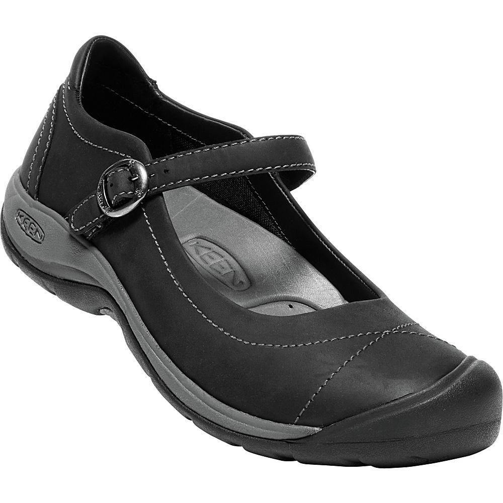 KEEN Womens Presidio II Mary-Jane 9.5 - Black/Steel Grey - KEEN Womens Footwear - Apparel & Footwear, Women's Footwear