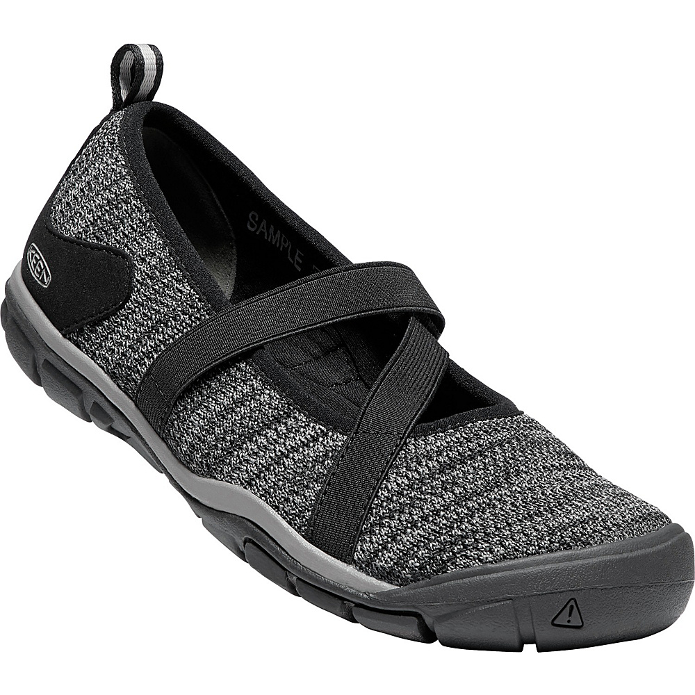 KEEN Womens Hush Knit Mary Janes 6.5 - Black/Gargoyle - KEEN Womens Footwear - Apparel & Footwear, Women's Footwear