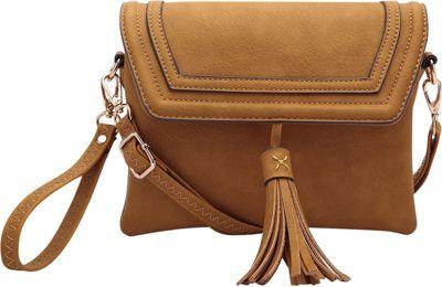 STYLE STRATEGY Tess Crossbody Mustard Yellow - STYLE STRATEGY Manmade Handbags