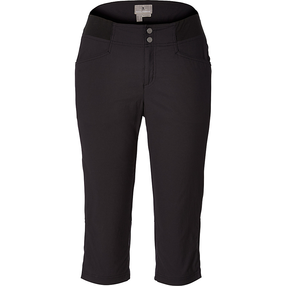 Royal Robbins Womens Jammer II Capri 16 - Jet Black - Royal Robbins Womens Apparel - Apparel & Footwear, Women's Apparel