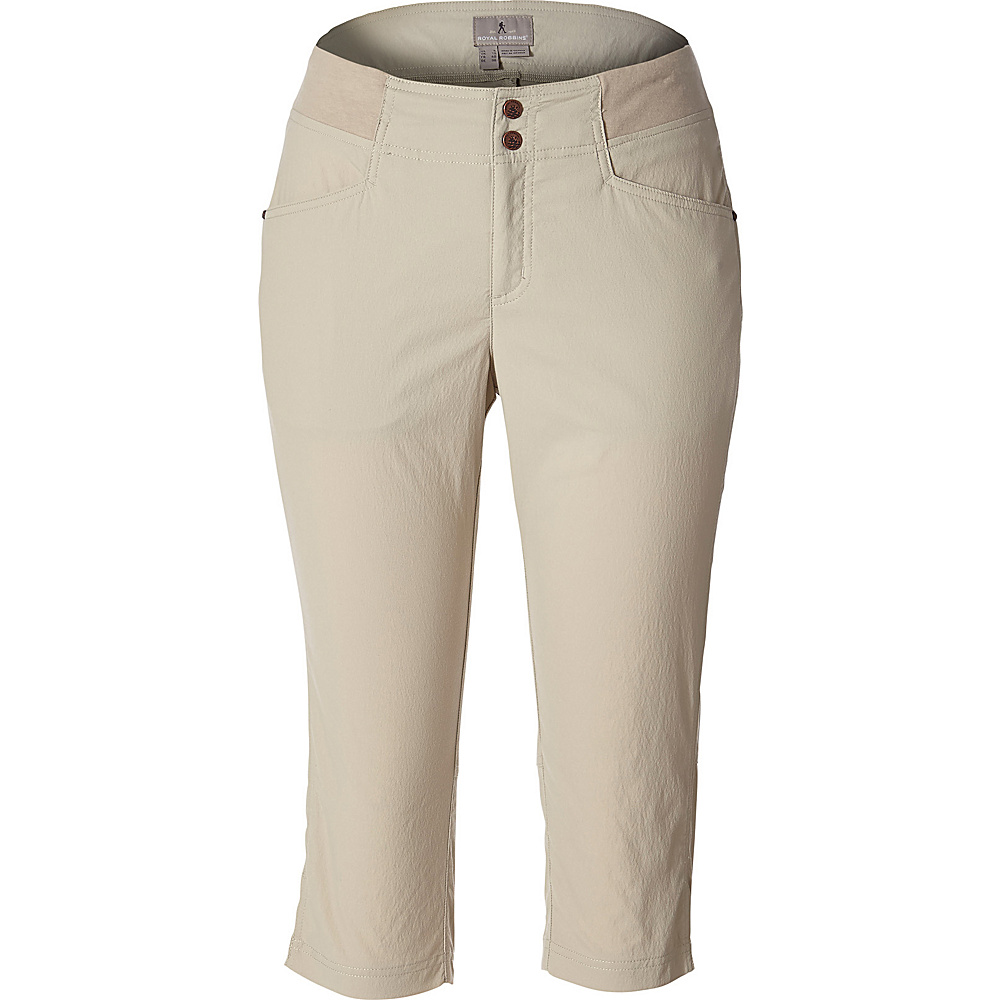 Royal Robbins Womens Jammer II Capri 2 - Light Khaki - Royal Robbins Womens Apparel - Apparel & Footwear, Women's Apparel