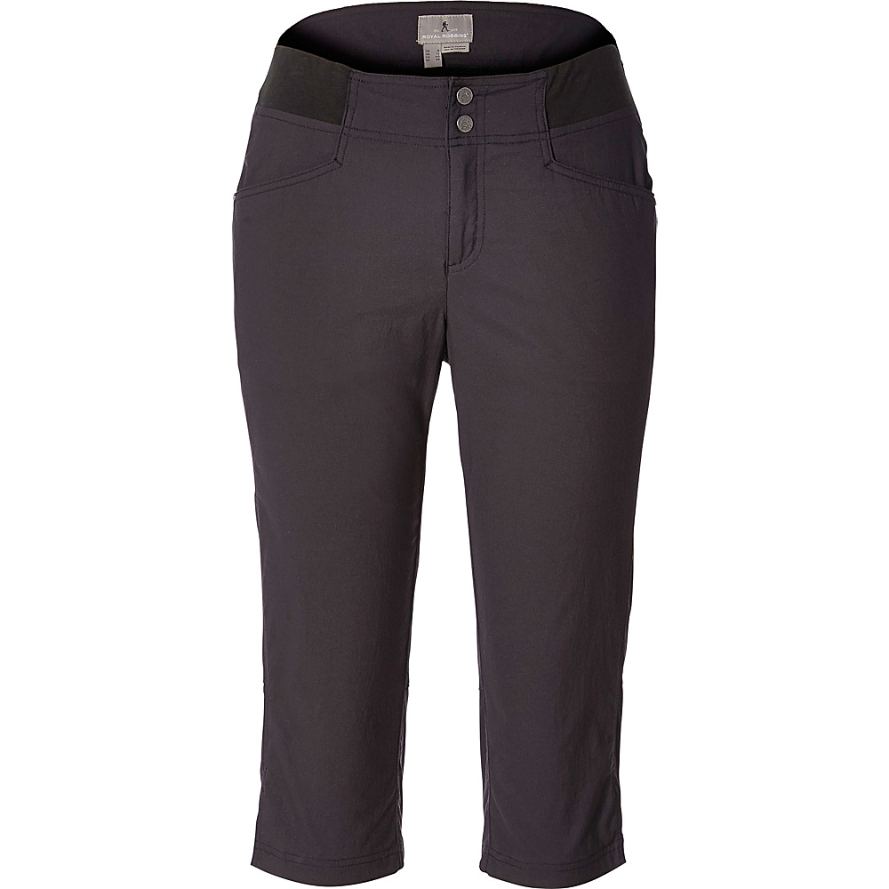 Royal Robbins Womens Jammer II Capri 6 - Asphalt - Royal Robbins Womens Apparel - Apparel & Footwear, Women's Apparel