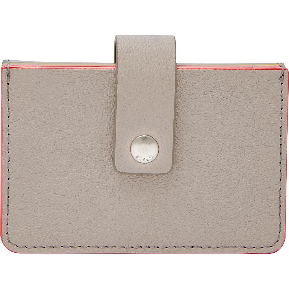 Fossil Mini Tab Wallet Mineral Gray - Fossil Womens Wallets - Women's SLG, Women's Wallets