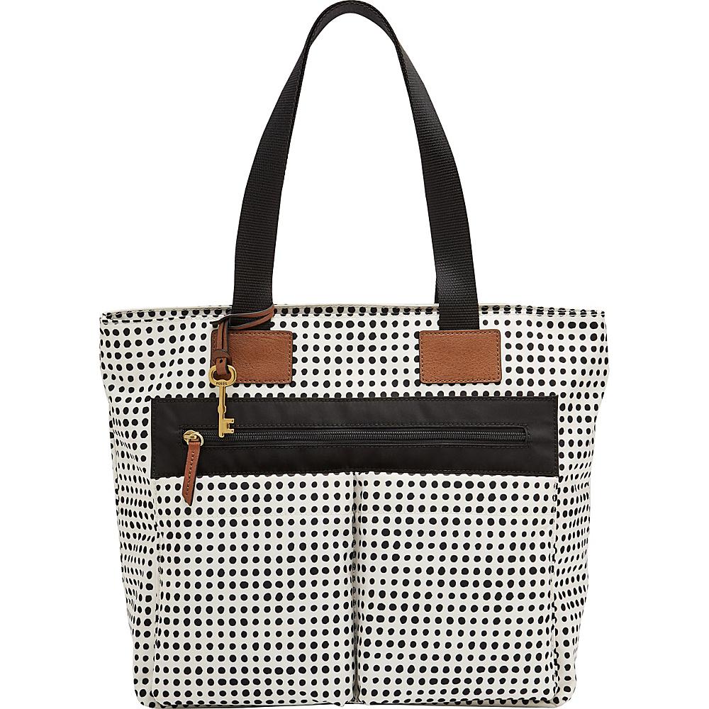 Fossil Bailey Tote DOT - Fossil Fabric Handbags - Handbags, Fabric Handbags