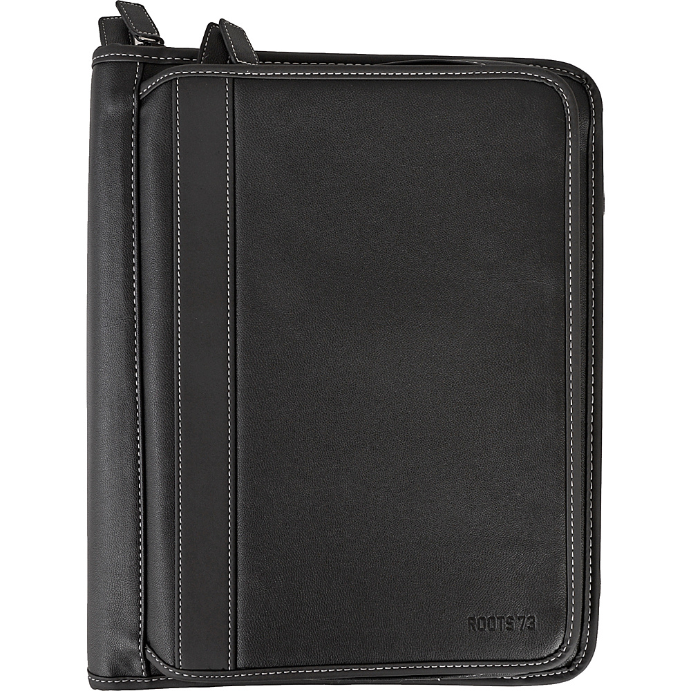 Roots 73 Deluxe Binder With Double Zip Arounds Black Roots 73 Business Accessories